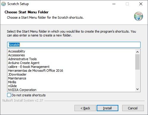Instalar Scratch 1.4 paso 3 en Windows