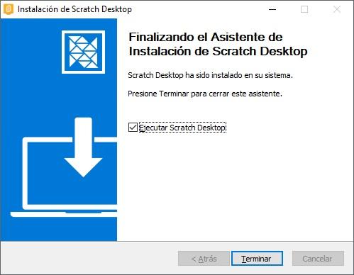 Instalar Scratch 3.0 paso 2 en Windows