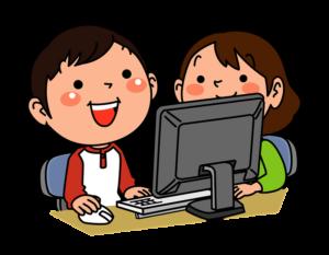 Niños programando en Scratch