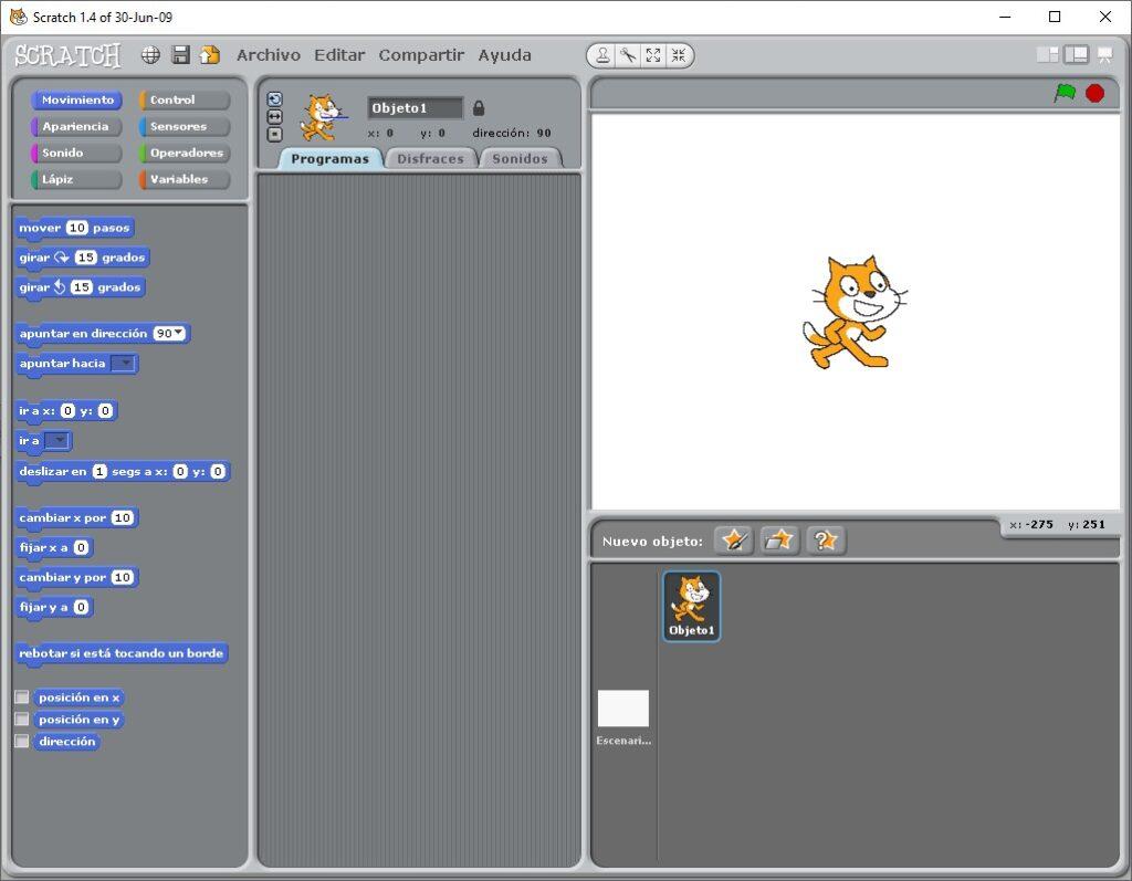 Scratch 1.4 Instalado en Windows