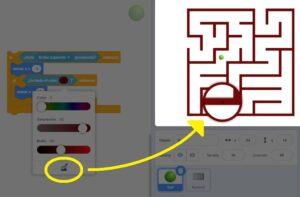 Tutorial programación Laberinto en Scratch - Paso 6