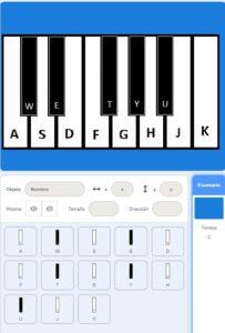 Tutorial programación Piano en Scratch - Paso 1