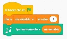 Tutorial programación Piano en Scratch - Paso 2